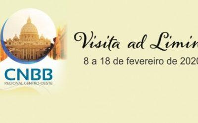 Centro-Oeste será o primeiro regional da CNBB a ir a Roma, em Visita 'ad Limina Apostolorum' em 2020