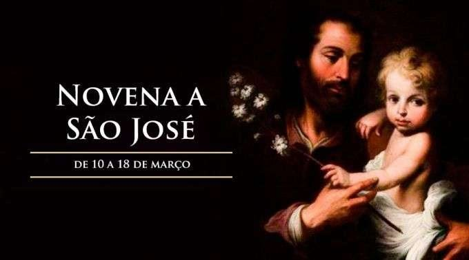 Reze conosco, com confiança, a novena a São José