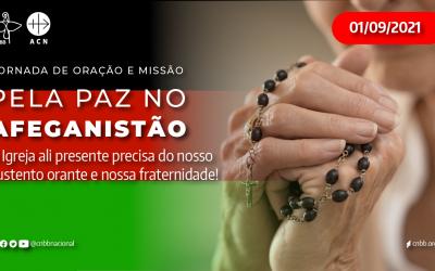 Brasil: 1° de setembro é dia de rezar pela paz no Afeganistão